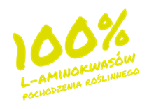 100% l-aminokwasów pochodzenia zwierzęcego